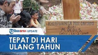 Tragedi Susur Sungai SMPN 1 Turi, Korban Meninggal Khoirunnisa Dimakamkan Tepat di Hari Ulang Tahun