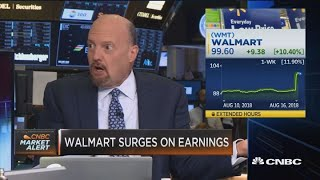 This is the age of Walmart, says Jim Cramer