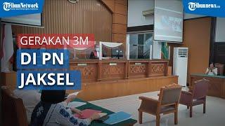 PN Jaksel Ketatkan Protap Pencegahan Covid-19 Sedari Luar Gedung hingga Dalam Ruang Sidang
