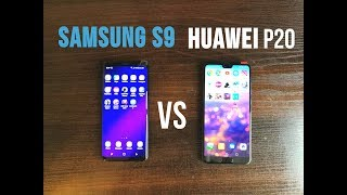 Samsung S9 vs Huawei P20 Speed Test. Which Is Faster?