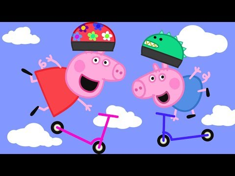 Peppa Pig English Episodes in 4K | Scooters! Peppa Pig Official
