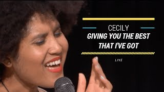 """""""Giving You the Best That I Got"""" 