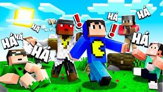 Minecraft: TIRINGA BRIGOU COM A GENTE! (Tente Não Rir)