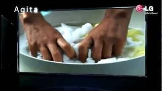 "LG lavadora 6 Motion ""Agitar"""