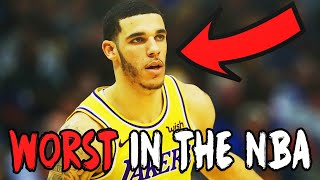 The Worst NBA Players Right Now