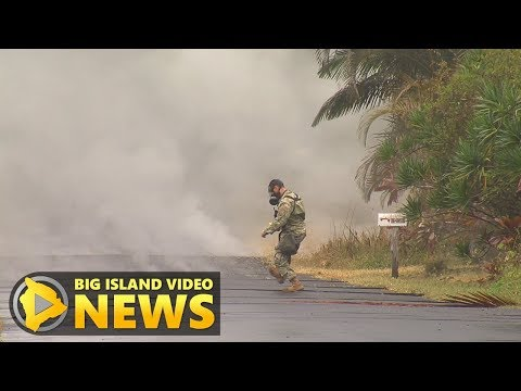 Hawaii Volcano Eruption Update - Tuesday Morning (May 8, 2018)