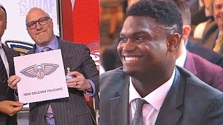 2019 NBA Draft Lottery & Pelicans Get 1st Overall Pick For Zion Williamson! NBA Draft Lottery 2019
