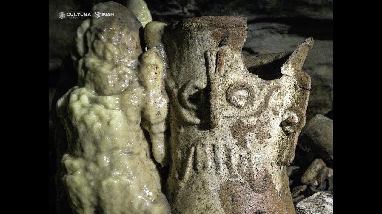 Археологи нашли храм майя с тысячелетними артефактами