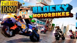 Blocky Motorbikes Racing Game Game Review 1080P Official Oscar Baro Simulation 2016
