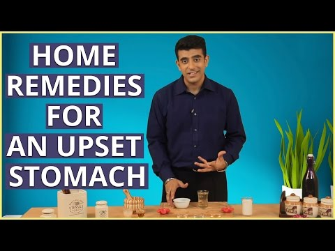 Video 3 Natural Home Remedies To CURE AN UPSET STOMACH