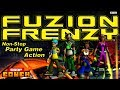 Fuzion Frenzy: Party Of Four Co op Couch