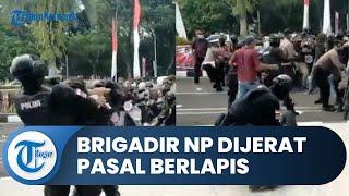 Polisi yang Banting Mahasiswa saat Demo di Tangerang Kini Ditahan dan Dijerat Pasal Berlapis