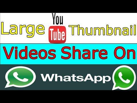 How To Post YouTube Video Link In Large Thumbnail On WhatsApp || Urdu/Hindi || Urdu Guideline