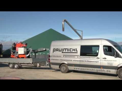 Paulmichl mobile, stationäre oder Teleskop-Separatoren