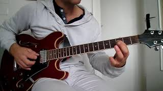 AC/DC - Emission control - how to play tuto guitare YouTube En Français