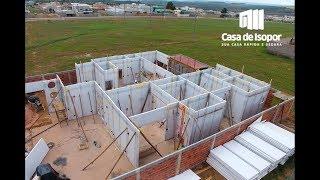 Etapas de Construção - Casa de Isopor