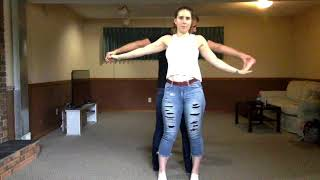 Learn How To Club Country Dance Part 2 - Intermediate Moves, Octopus, Dips