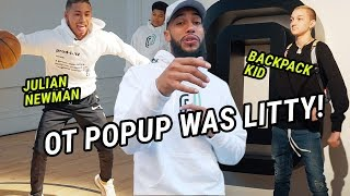 Julian Newman, Backpack Kid & Rachel DeMita Pulled Up To The Overtime Party! GOT LITTY W/ Larry