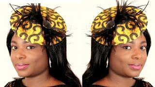 How To Make A Fascinator Headpiece // DIY Fascinator Hat With Headband // No Sewing Project Ideas