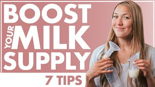 Tips for Increasing BREASTMILK SUPPLY | How to POWER PUMP | Foods to Produce More Milk | Birth Doula