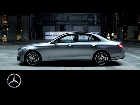 Mercedes-Benz E Feature drive presentation of the E-Class highlights