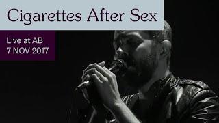 Cigarettes After Sex Live At AB   Ancienne Belgique