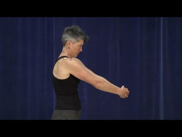 Rhomboid stretching