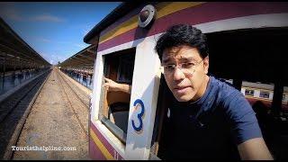Bangkok to Ayutthaya : 15 baht in a train; Can you travel cheaper than this!