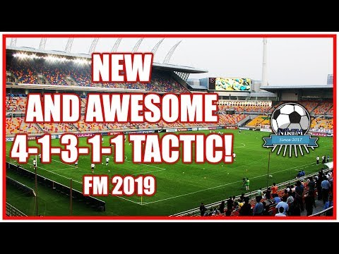 Unstoppable 4-1-2-3 Tactic - Football Manager 2019 (FM19