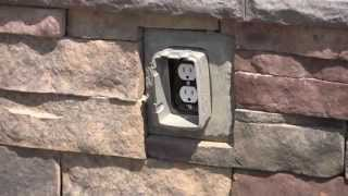 Installing An Outlet Stone Accessory