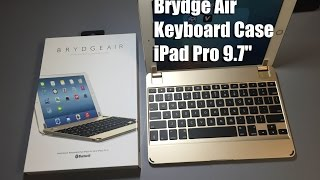 "Brydge Air Keyboard Case For The IPad Pro 9.7"" Gold"