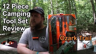 In Depth Review: Ozark Trail 12 Piece Camping Tool Set & Folding Saw