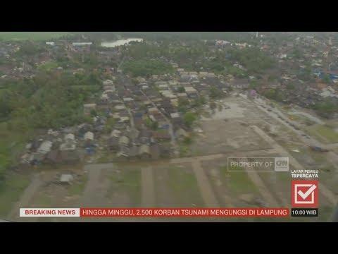 Update Korban Tsunami Selat Sunda; Banten & Lampung