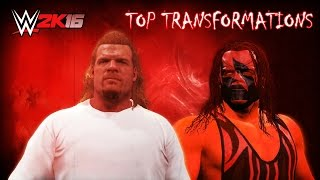 WWE 2K16 Top Transformations Vol. 1