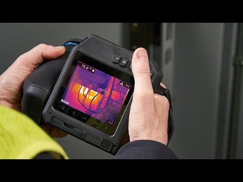 Introducing the FLIR T500 Series Professional Thermal Imaging Camera