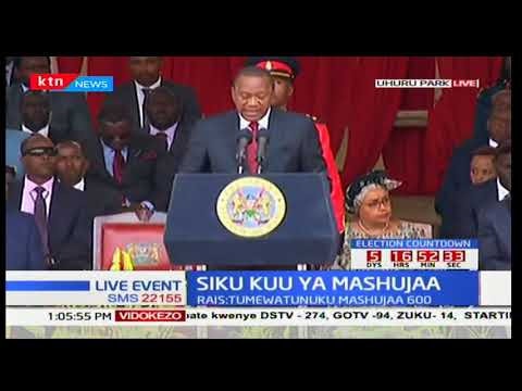 President Uhuru warns perpetrators of democracy to shun from violence