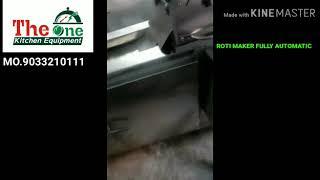 Auto. Chapati Macking Machine