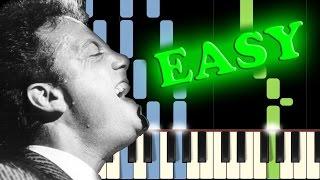 BILLY JOEL - PIANO MAN - Easy Piano Tutorial