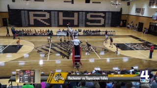 Rochester Volleyball vs Tippecanoe Valley