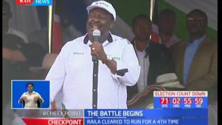 Raila Odinga cleared to run for presidency for a fourth time