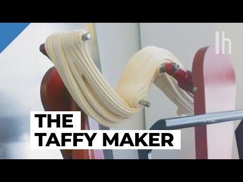 How I Work: NYC's Only Taffy Maker