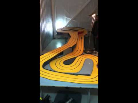 Awesome slot car track