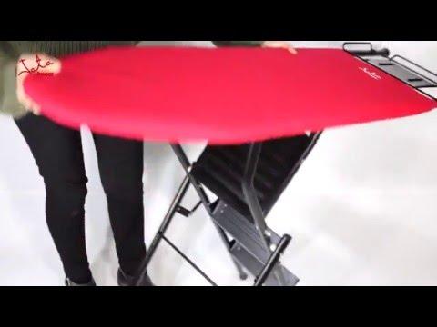 Triikimislaud-redel Jata, 107x34 cm