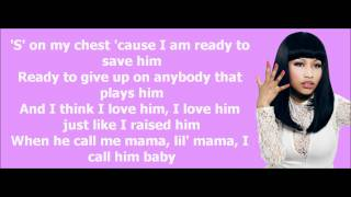 Nicki Minaj - Your Love Lyrics Video