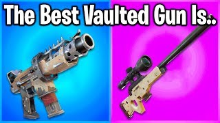 FORTNITE PLAYERS RANK EVERY GUN REMOVED FROM WORST TO BEST!