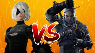2B   Vs   Geralt