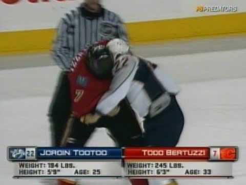 Todd Bertuzzi vs. Jordin Tootoo