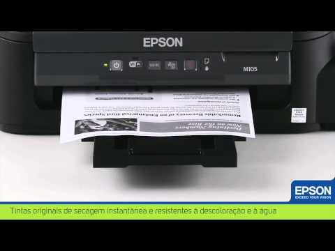 Impressora Monocromática Epson WorkForce M105