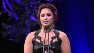 Demi Lovato's Acceptance Speech At Unite4: Humanity Gala #Unite4Humanity