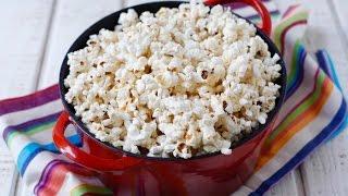 How To Pop Popcorn - Healthy Snack Recipes - Weelicious